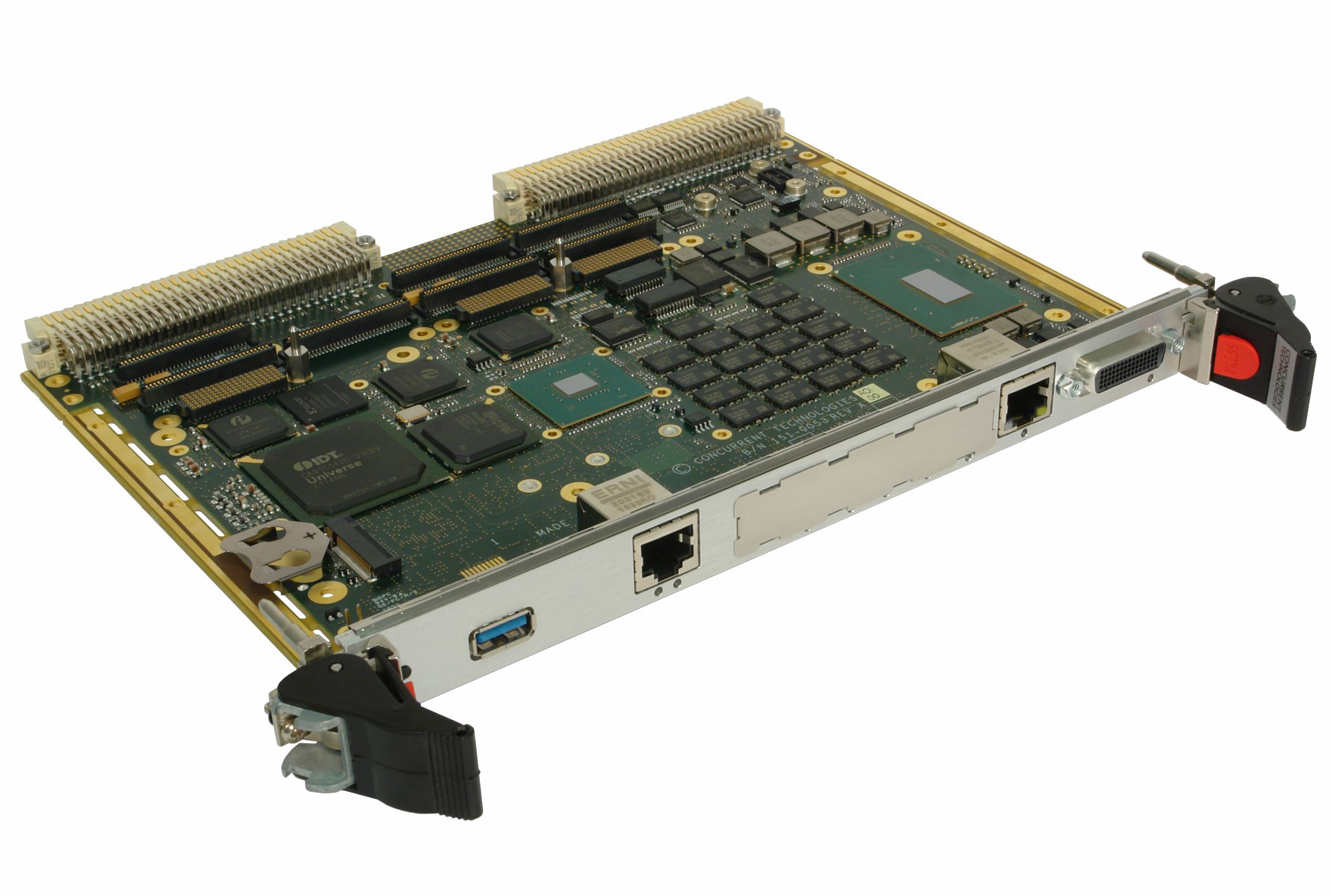 VP B7x/msd VME Processor Board with 6-core Intel® Xeon® processor E-2176M
