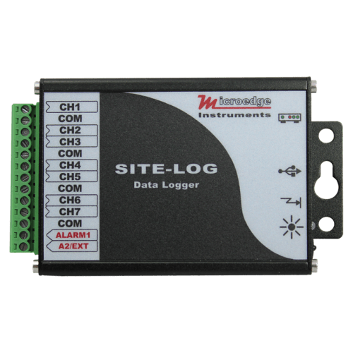 <h4>MicroEdge Site-LOG 7 ch data loggers<h4>