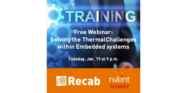 Webinar-Recab-nVent-Solving -Thermal -Challenges -Embedded - Systems