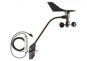 Prisbillig vindretning og -hastighedssensor
