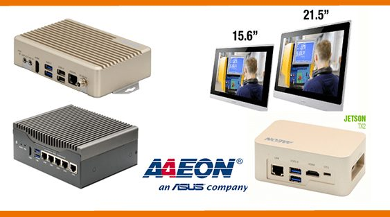 Aaeon - Recab - Box PC - AI - Embedded Computer - Google - OMNI Panel - Jetson