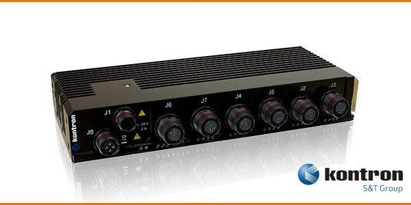Kontron CERES-2402-PTP rugged Ethernet switch for defense networks