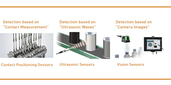 Detection based on-Sensors-ID-Vision-Keyence Recab's guidance: Laser displacement sensors - What is - We guide you