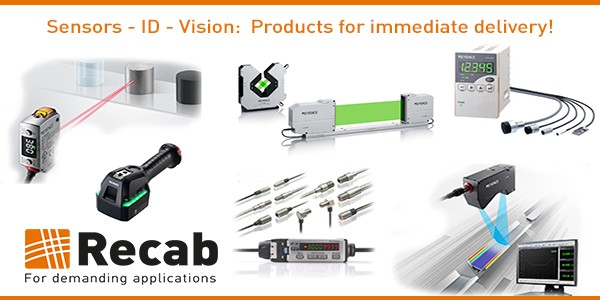 600x300Sensors-Keyence- ID - Vision- Products for immediate delivery!