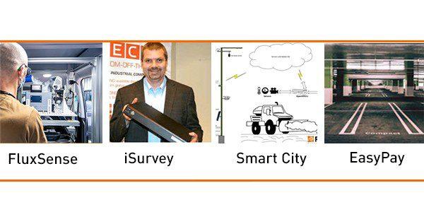 Recab EasyPay Fluxsense iSurvey SmartCity AI Artificial Intelligence